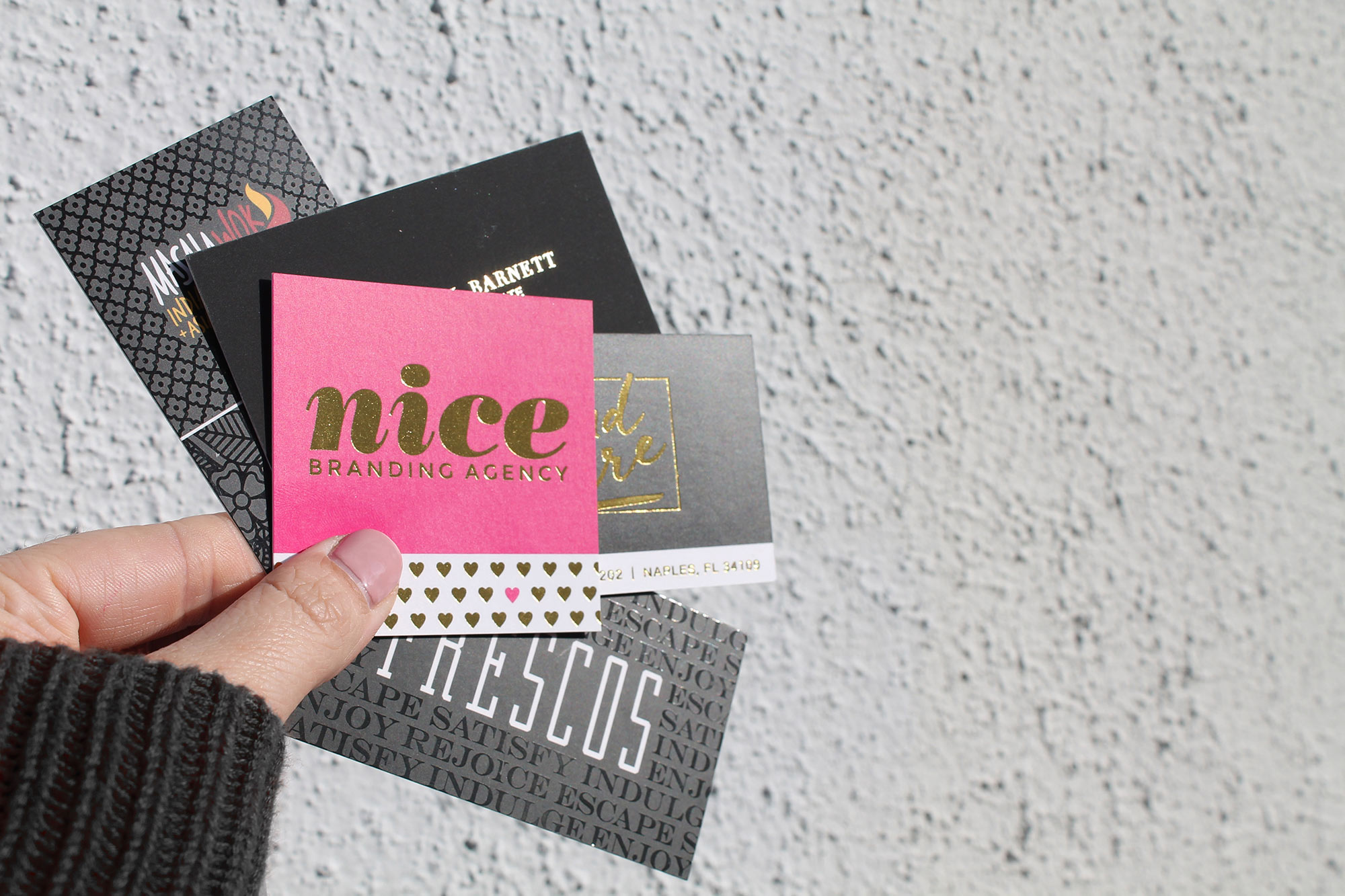 Print finishes you wanna know about nice branding agency print finishes reheart