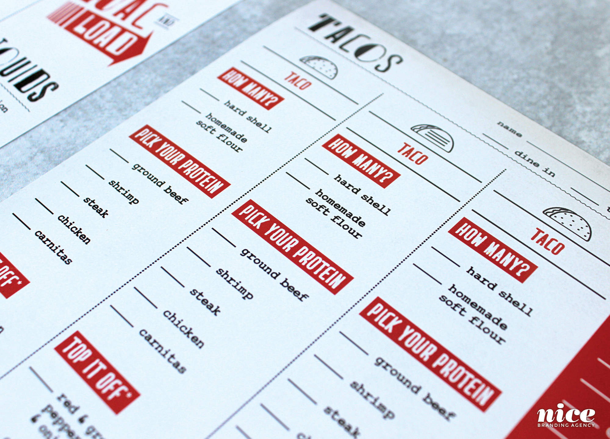 best restaurant menu design agency