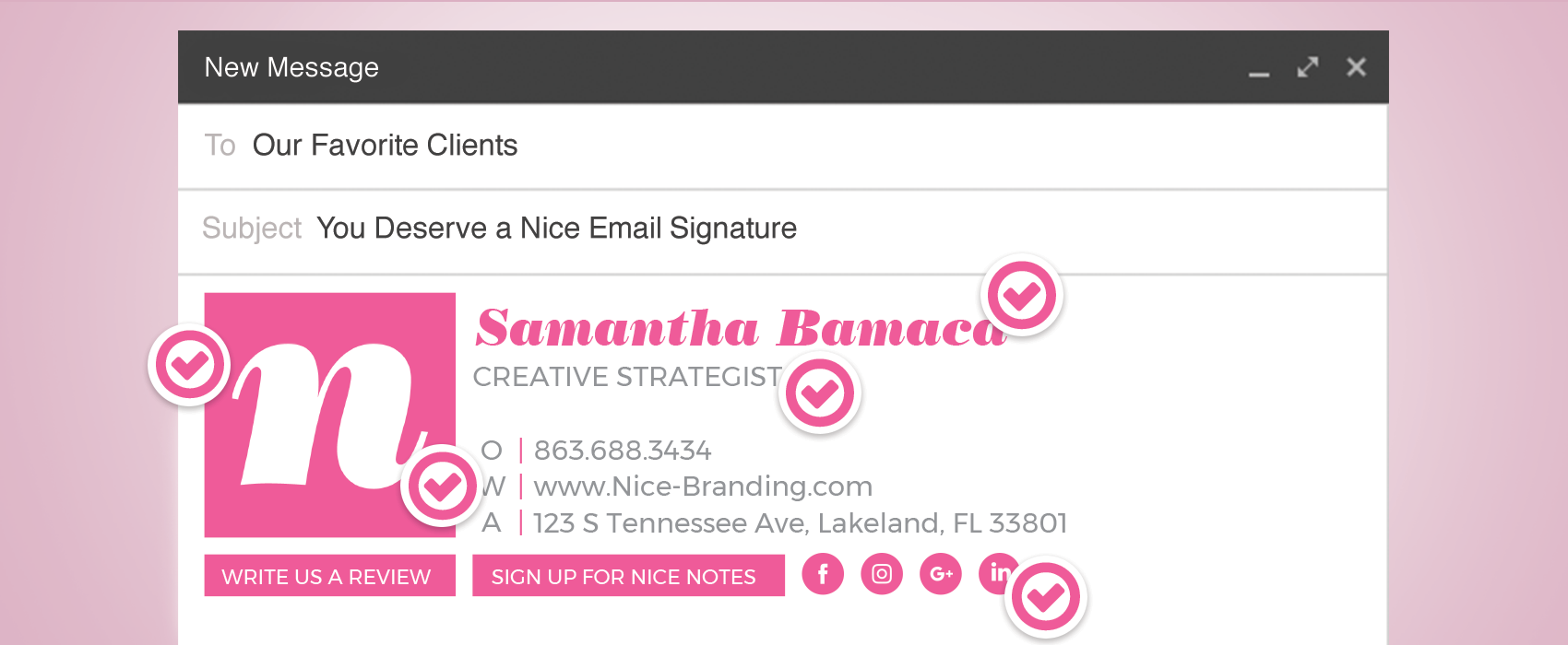 nice email signatures