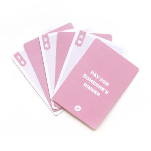 Do Something Nice Day Game Cards
