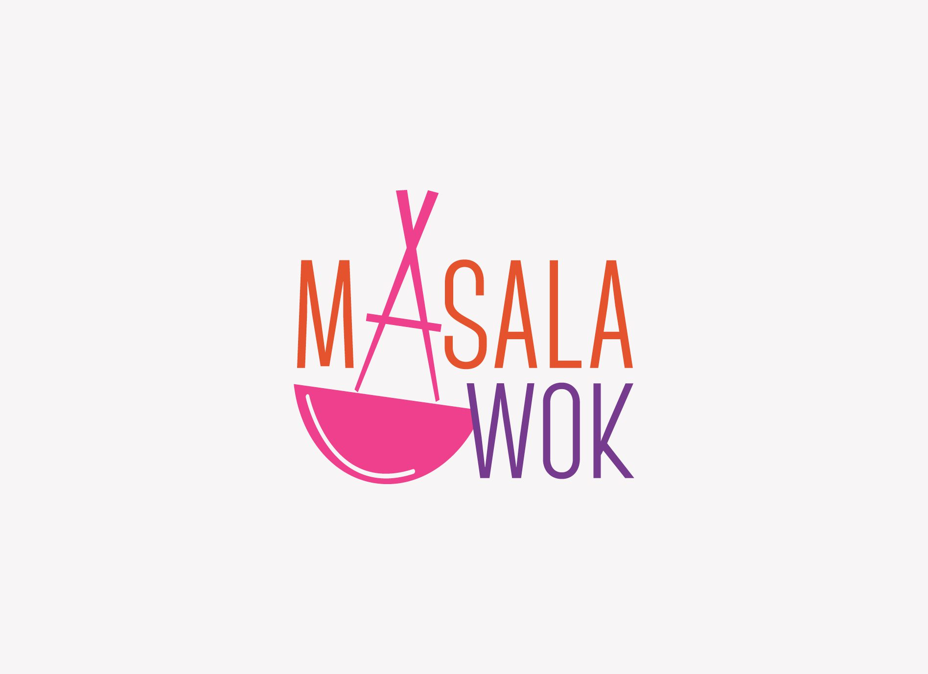 Masala Wok Restaurant Branding Logo Website And Interior Design