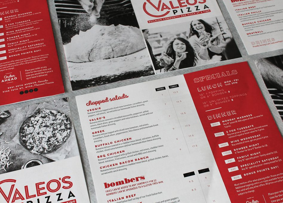 pizza restaurant branding