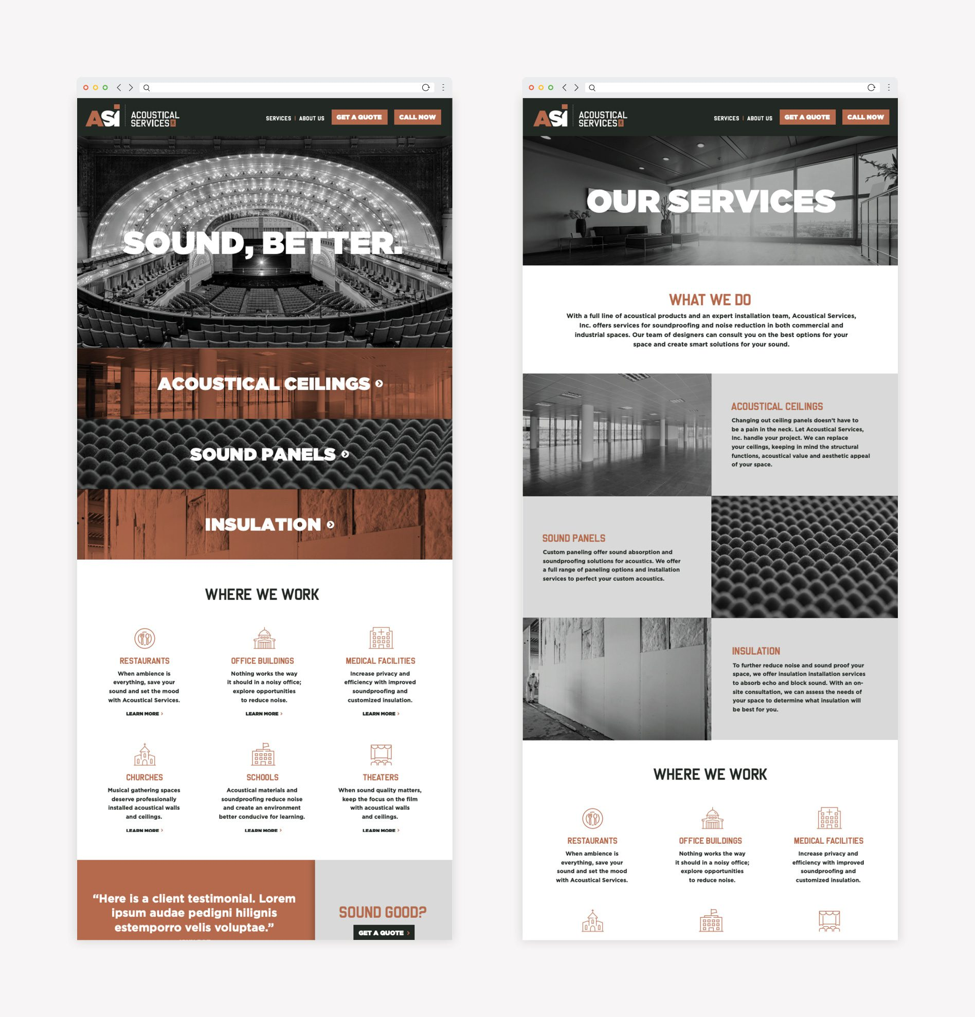 business website branding