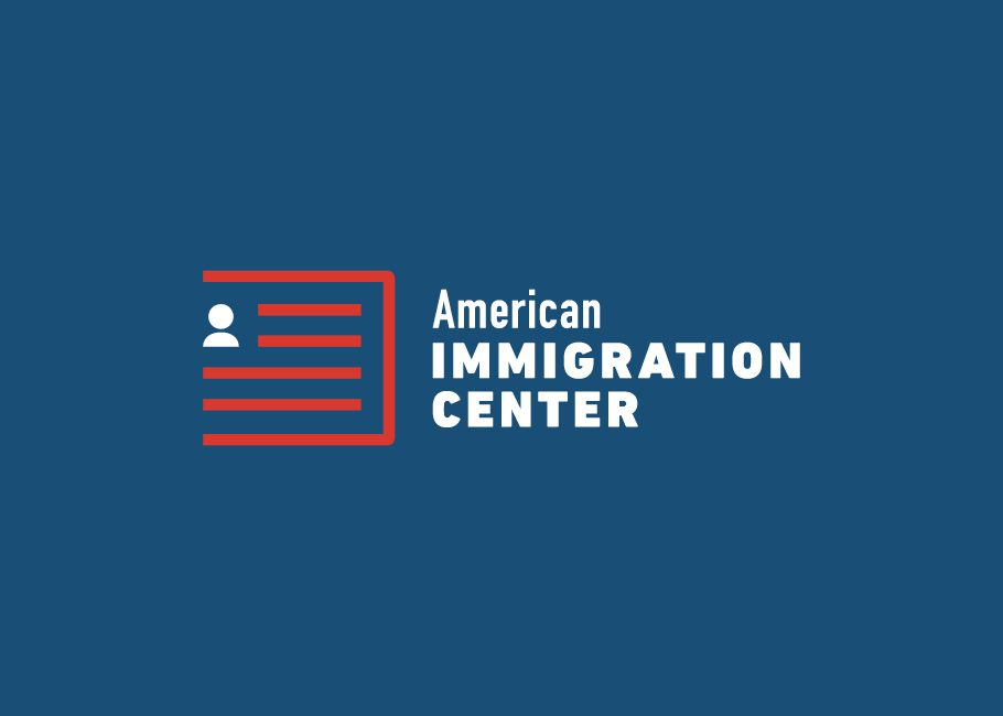 American Immigration Center logo redesign example