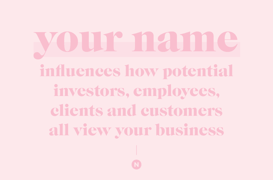 naming a business best practices