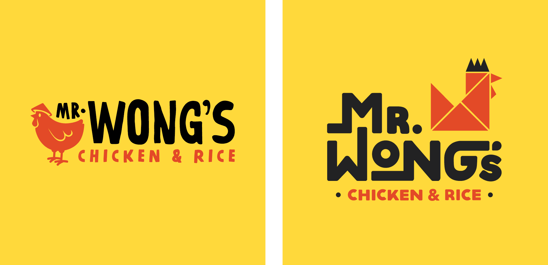 asian chicken logo design
