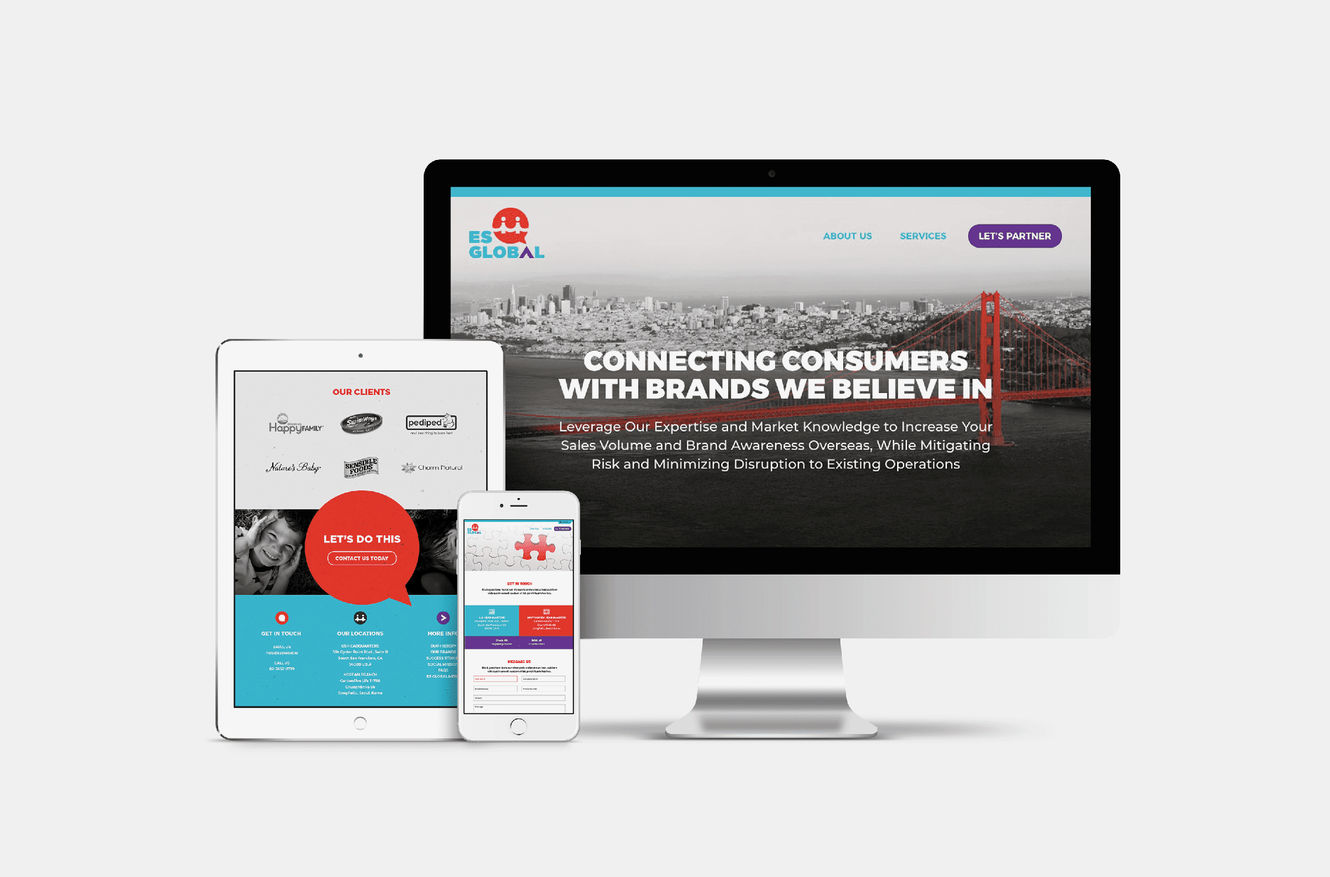 global website design agency
