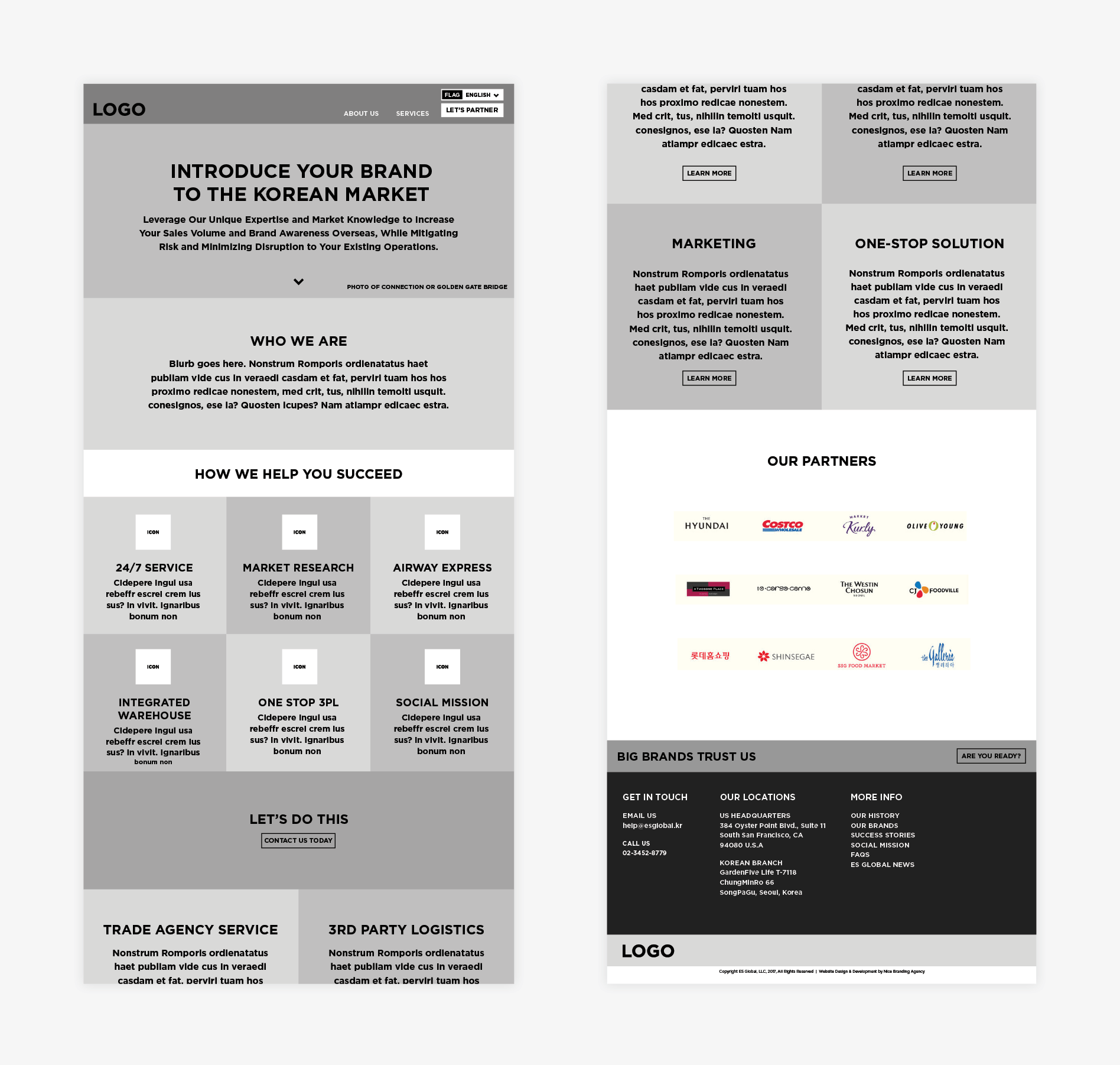 global wireframe digital design