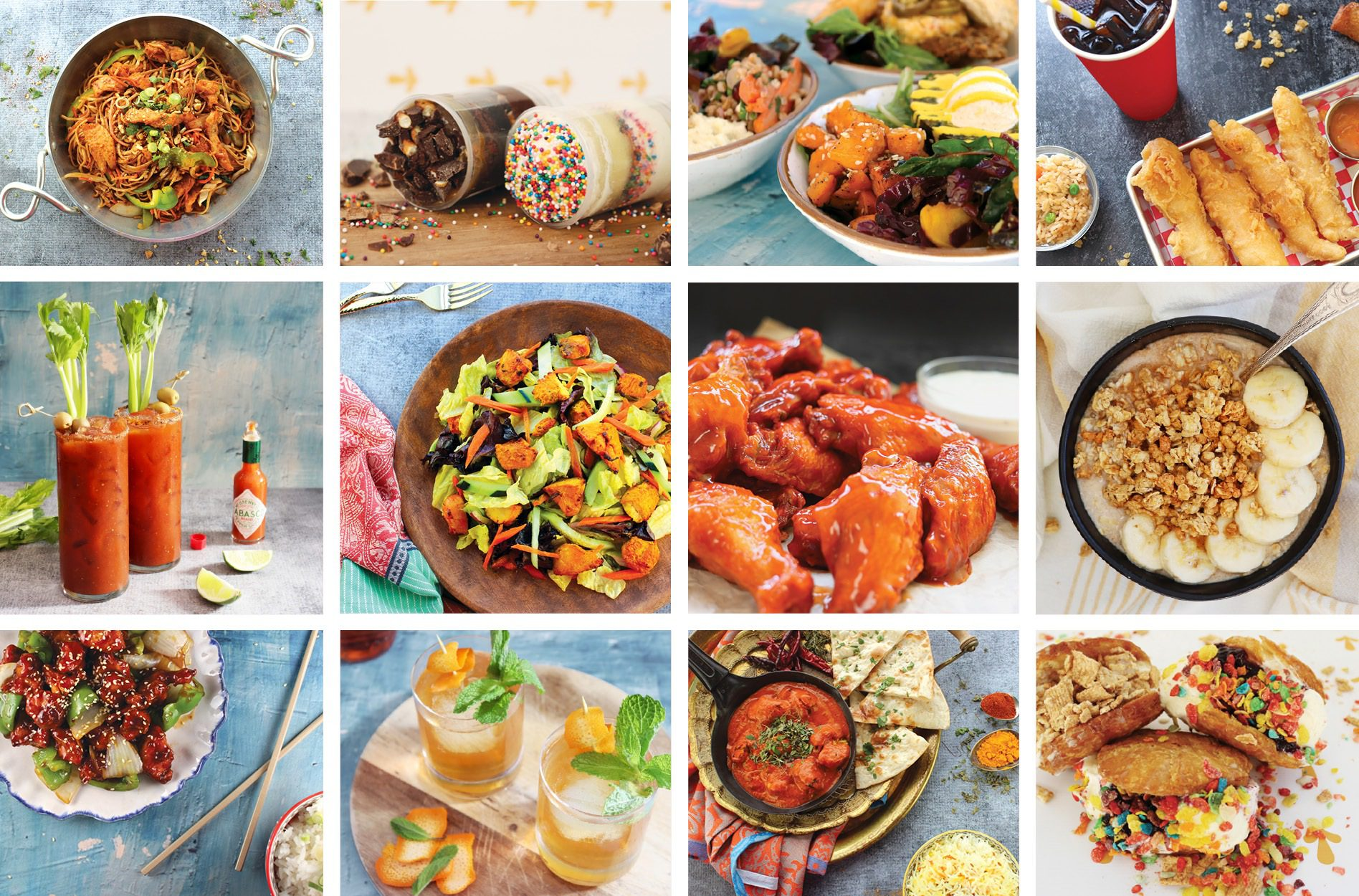 professional food styling photos