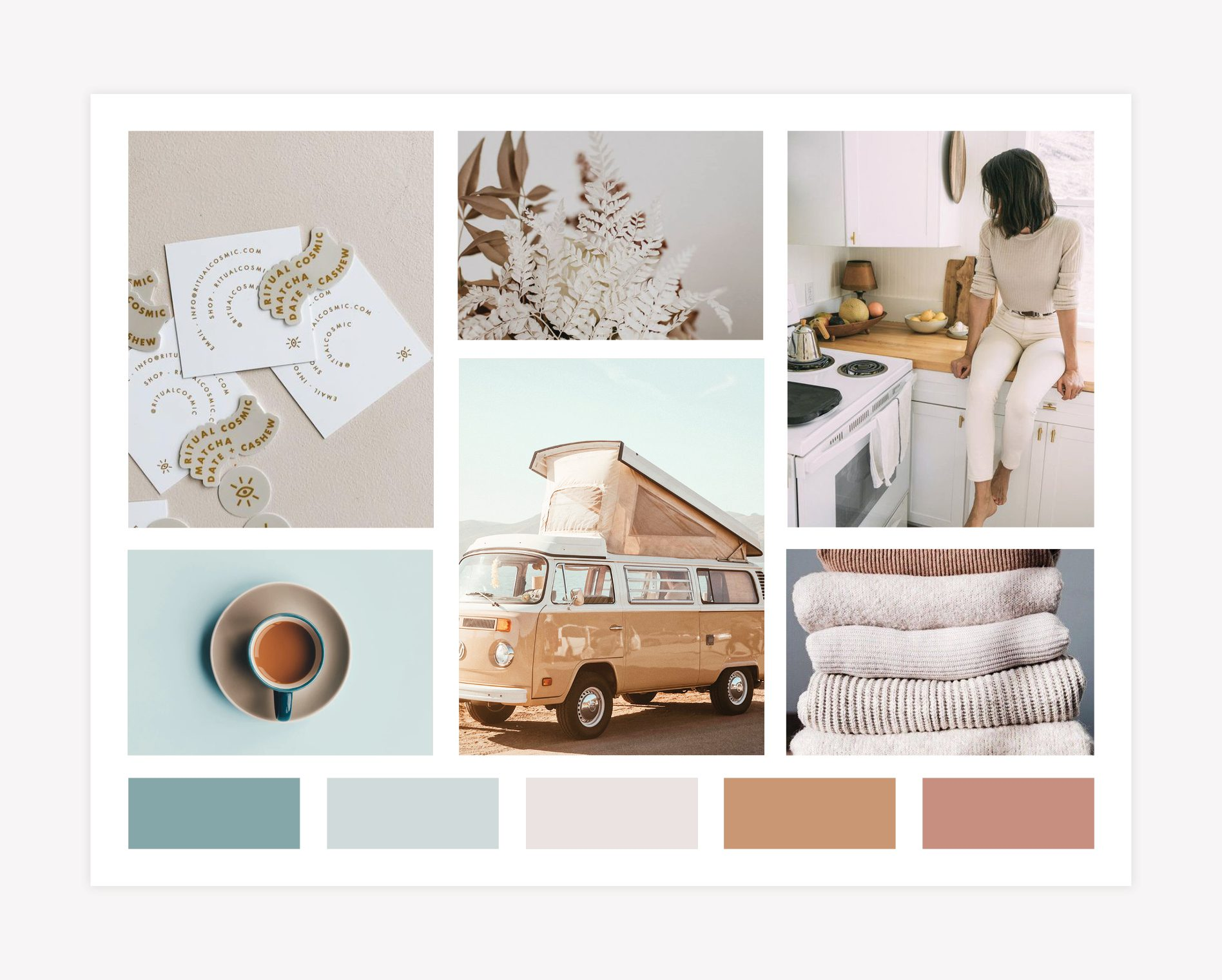 brand mood board design