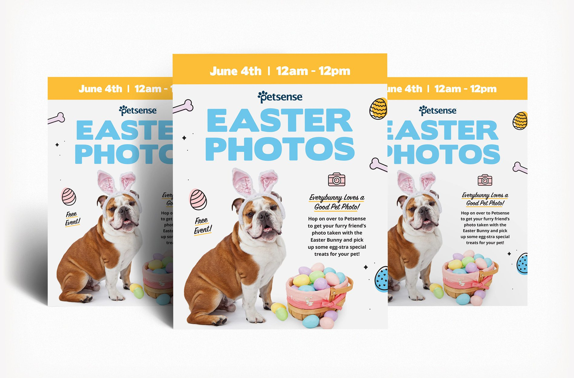 campaign design easter flyer