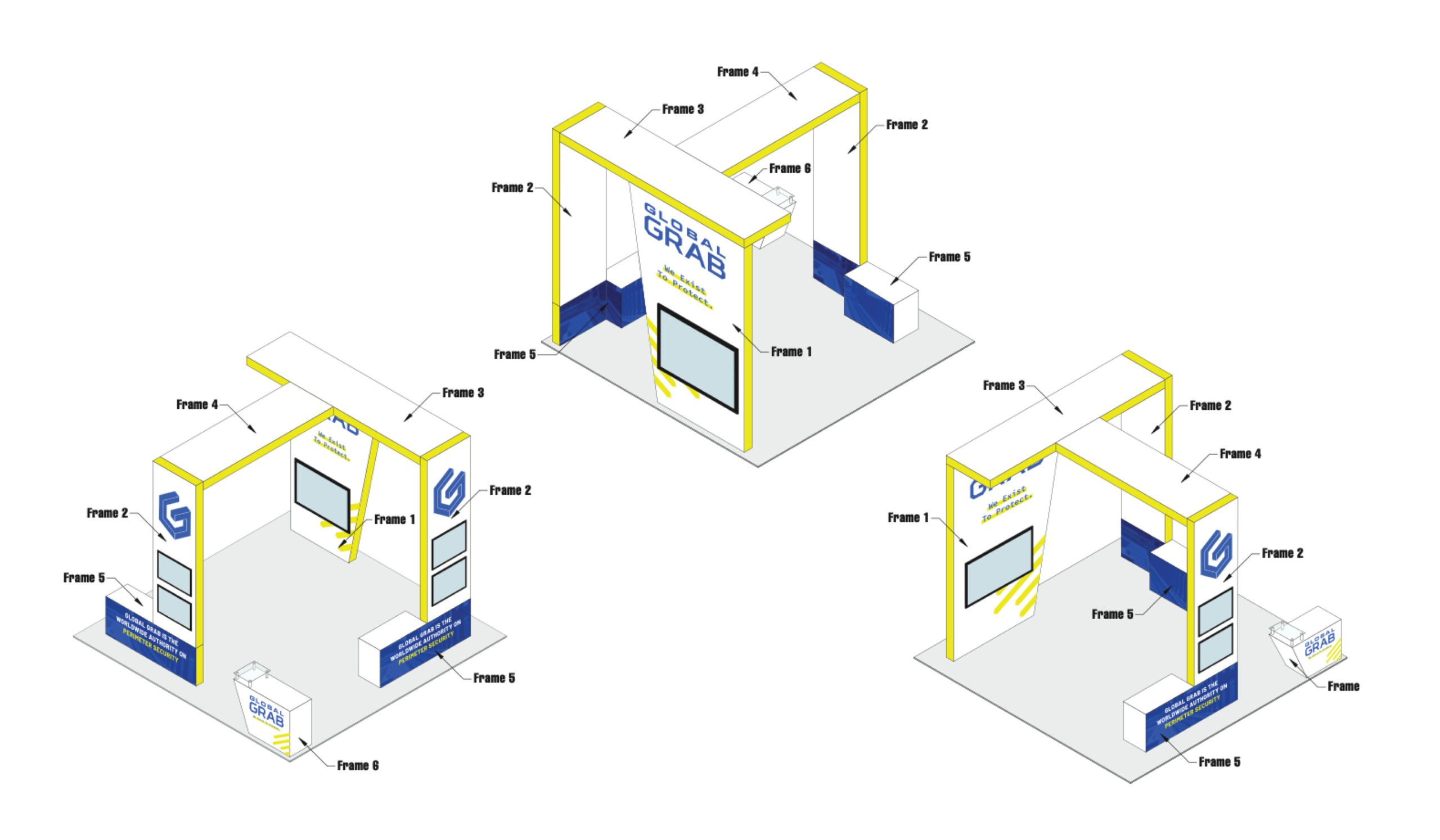 corporate tradeshow booth design agency