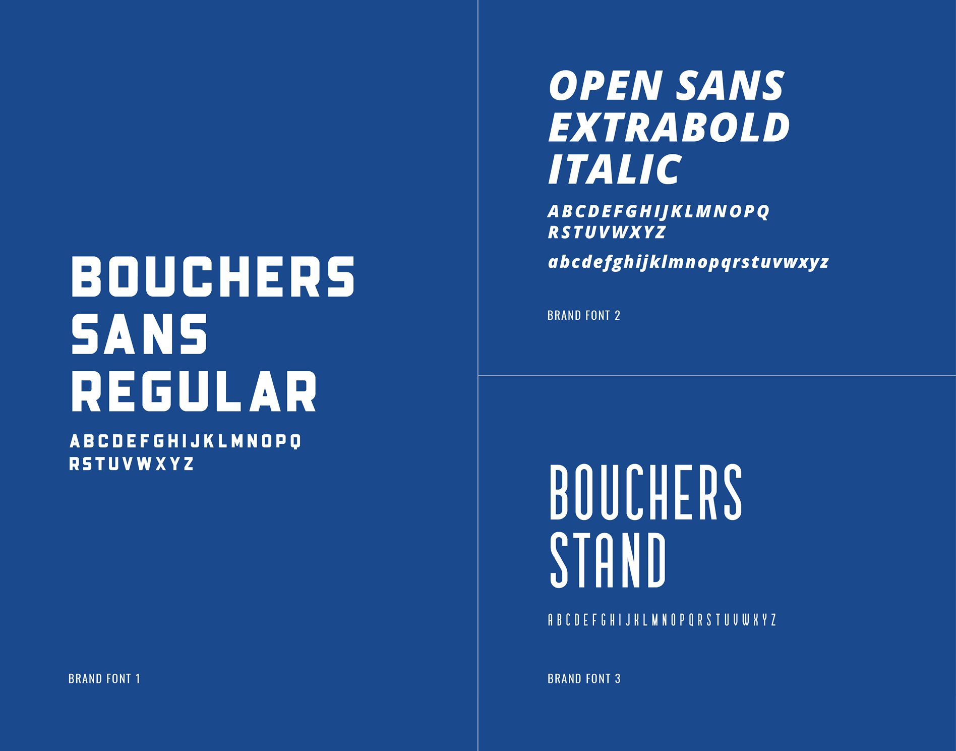 common branding terms brand fonts